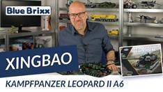 Youtube: Bundeswehr Kampfpanzer Leopard II A6 von Xingbao @ BlueBrixx