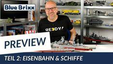 Youtube: Preview-Special April 2020 - Teil 2: Eisenbahn & Schiffe @ BlueBrixx