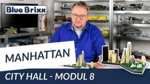 Youtube: Manhattan-Modul 8 - City Hall von BlueBrixx