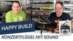Youtube: Konzertflügel mit Sound von Happy Build @ BlueBrixx