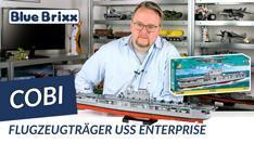Youtube: Flugzeugträger USS Enterprise CV-6 von Cobi @ BlueBrixx