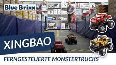 Youtube: Ferngesteuerte Monstertrucks von Xingbao @ BlueBrixx