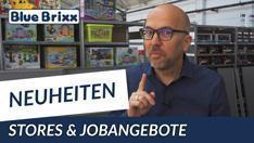 Youtube: Die Mai-News 2020 bei BlueBrixx - Rundgang, Stores & Jobangebote mit Klaus!
