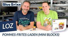 Youtube: Pommes-Frites-Laden von LOZ aus Mini Blocks @ BlueBrixx