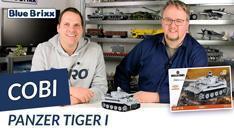 Youtube: Tiger I der World-of-Tanks-Edition von Cobi @ BlueBrixx
