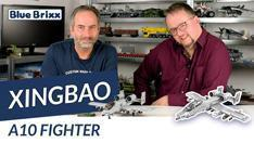 Youtube: A10 Fighter von Xingbao @ BlueBrixx