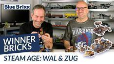 Youtube: Steam Age Wal & Zug von Winner Bricks @ BlueBrixx