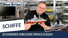 Youtube: Schwerer Kreuzer Prinz Eugen von BlueBrixx