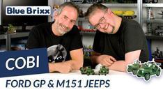 Youtube: Ford GP & M151 Jeeps von Cobi @ BlueBrixx