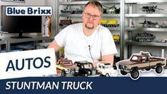 Youtube: Stuntman Truck von BlueBrixx