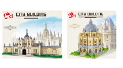 Bald erhältlich:  Architektur Sets von Lezi