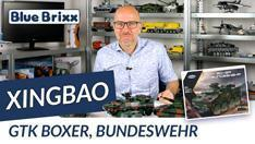 YouTube: Bundeswehr GTK Boxer von Xingbao @ BlueBrixx
