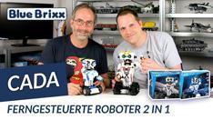Youtube: Ferngesteuerte Roboter 2 in 1 von CaDA @ BlueBrixx