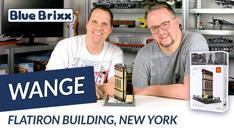 Youtube: Flatiron Building New York von Wange @ BlueBrixx