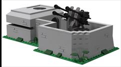 Neuer Bunker mit Flakstellung geht in Produktion