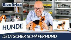 Youtube: Deutscher Schäferhund aus Diamond Blocks von BlueBrixx Pro @ BlueBrixx
