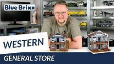 Youtube: General Store von BlueBrixx - unser erstes Western-Set!