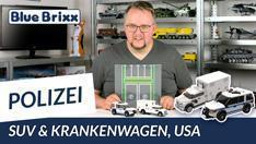 Youtube: US-Polizeifahrzeuge und Straßenplatten @ BlueBrixx