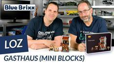 Youtube: Gasthaus von LOZ aus Mini Blocks @ BlueBrixx