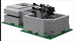 New bunker with flak position goes into production