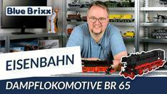 Youtube: Dampflokomotive BR 65 von BlueBrixx