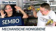 Youtube: Mechanische Honigbiene von Sembo @ BlueBrixx