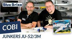 YouTube: Junkers JU-52/3M von Cobi @ BlueBrixx