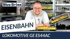 YouTube: Lokomotive GE ES44AC Gelb von BlueBrixx