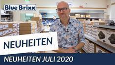 YouTube: Die Juli-Neuheiten 2020 bei BlueBrixx – heute aus dem Store in Hagen!