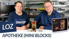 Youtube: Apotheke von LOZ aus Mini Blocks @ BlueBrixx