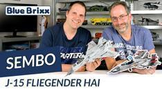 Youtube: J-15 Fliegender Hai von Sembo @ BlueBrixx