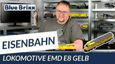 Youtube: Lokomotive EMD E8 Gelb von BlueBrixx