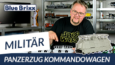Youtube: Panzerzug Kommandowagen von BlueBrixx