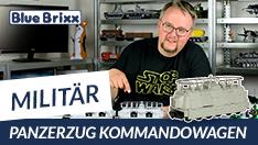 Youtube: Panzerzug Kommandowagen von BlueBrixx