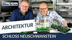 Youtube: Schloss Neuschwanstein von BlueBrixx - ein Architekturmodell aus 7.438 Teilen!