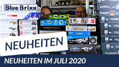 Youtube: Noch mehr Juli-Neuheiten 2020 bei BlueBrixx!