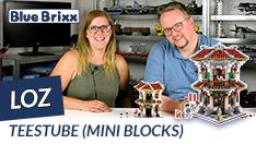 Youtube: Teestube von LOZ aus Mini Blocks @ BlueBrixx
