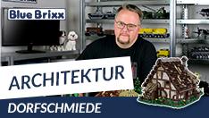 Youtube: Dorfschmiede von BlueBrixx - unser erstes modulares Mittelalter-Set!