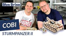 Youtube: Sturmpanzer II von Cobi @ BlueBrixx