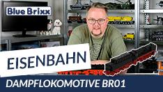 Youtube: Dampflokomotive BR 01 von BlueBrixx