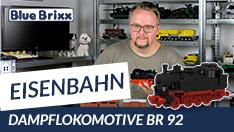 Youtube: Dampflokomotive BR 92 von BlueBrixx