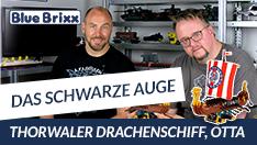 Youtube: Das Schwarze Auge - Thorwaler Drachenschiff Otta von BlueBrixx - mit Studiogast Niko!