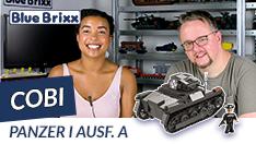 Youtube: Panzer I Ausführung A von Cobi @ BlueBrixx