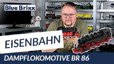 Youtube: Dampflokomotive BR 86 von BlueBrixx