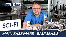 Youtube: Main Base Mars - Raumbasis von BlueBrixx