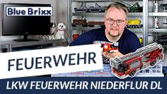 Youtube: Feuerwehr LKW Niederflur DL von BlueBrixx