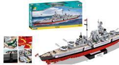 Schlachtschiff Bismarck von Cobi!