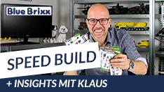 Youtube: Bauen mit BlueBrixx - Speedbuild und Insights mit Klaus