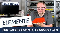 Youtube: Bauen mit BlueBrixx - Dachelmente als Zubehör-Sets