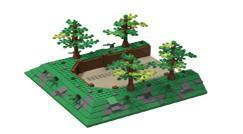 And another terrain set: the anti tank ditch